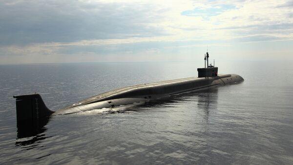 Le sous-marin nucléaire russe du projet 955 Boreï, Vladimir Monomakh - Sputnik France