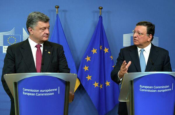 L'UE a conçu de nouvelles sanctions contre Moscou (Barroso) - Sputnik France
