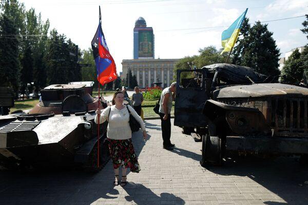 Ukraine: les républiques autoproclamées prêtes à rester au sein du pays - Sputnik France