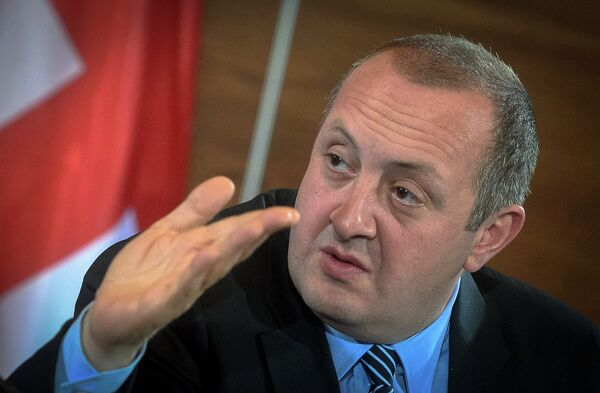 Gueorgui Margvelachvili, président de la Géorgie - Sputnik France