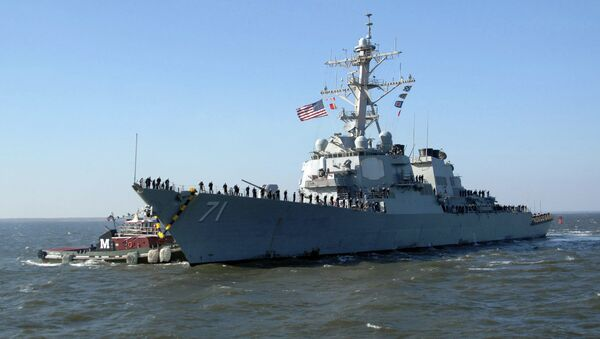 United States Navy destroyer USS Ross has entered Black Sea, to demonstrate the United States' commitment to strengthening the collective security of NATO allies and partners in the region. - Sputnik France