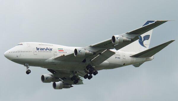 Iran Air Boeing 747SP - Sputnik France