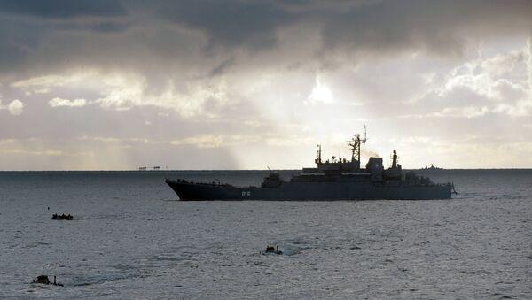 Георгий Победоносец - большой десантный корабль проекта 775 - Sputnik France