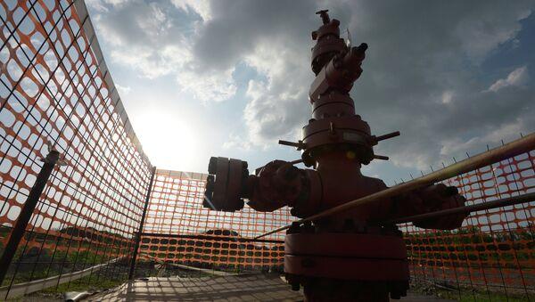 The borehole of shale gas mining - Sputnik France