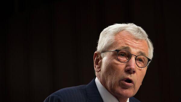 Le secrétaire américain à la Défense Chuck Hagel - Sputnik France