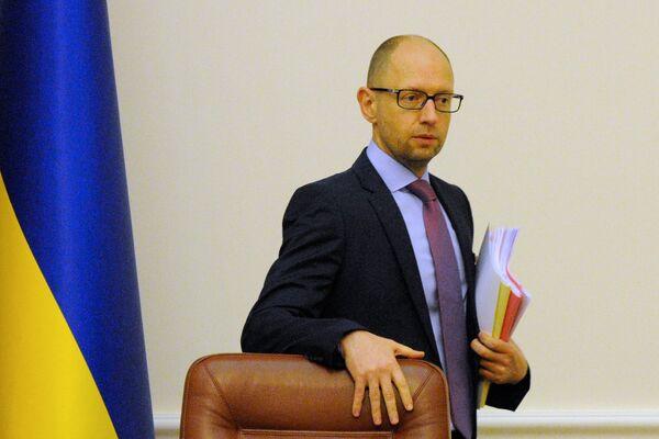 Arseni Iatseniouk, premier ministre de l'Ukraine - Sputnik France
