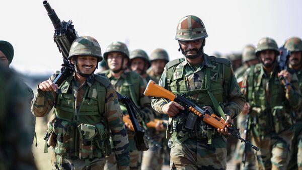 Militaires indiens - Sputnik France