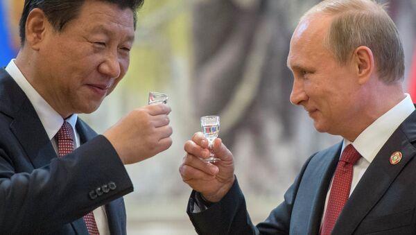 Vladimir Poutine et Xi Jinping - Sputnik France