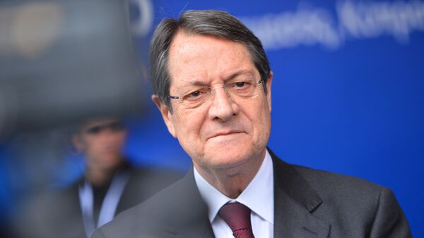 Президент Кипра Никос Анастасиадис - Sputnik France