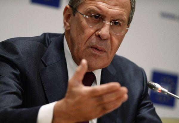 Ministre russe des Affaires étrangères Sergueï Lavrov - Sputnik France