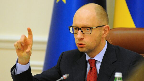 Премьер-министр Украины Арсений Яценюк - Sputnik France