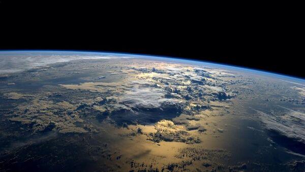 Фотография Земли, сделанная с борта МКС астронавтом NASA Рэдом Вейсманом - Sputnik France