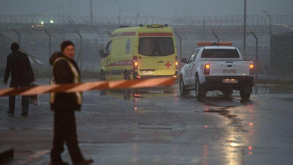 Crash du Falcon du PDG de Total à Vnoukovo - Sputnik France