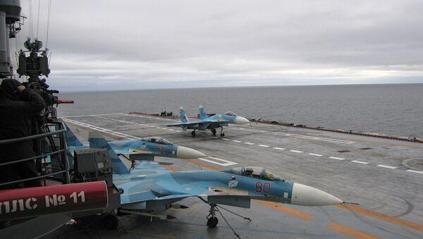 La Marine russe va s'offrir un nouveau porte-avion - Sputnik France