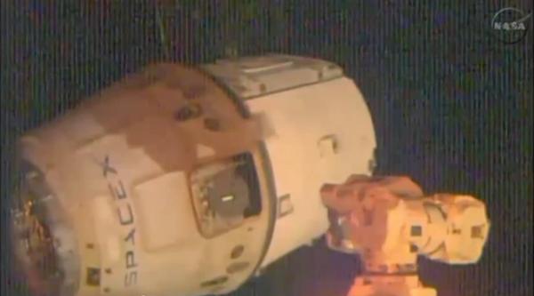 Le cargo spatial Dragon se sépare de l'ISS - Sputnik France