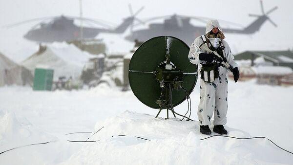 Exercices militaires russes en Arctique - Sputnik France