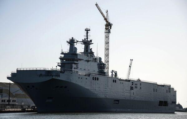 Bâtiment de guerre de classe Mistral - Sputnik France