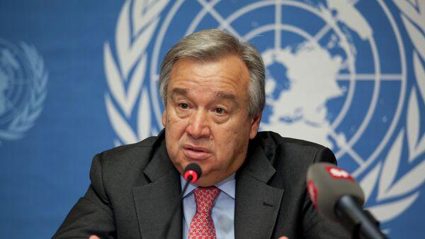 Antonio Guterres, Secrétaire général de l'Onu - Sputnik France