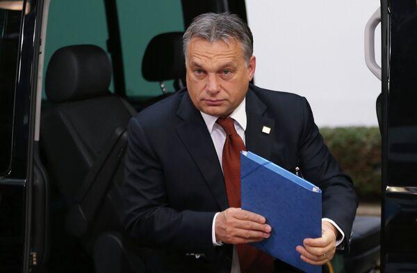Viktor Orban,  premier ministre de la Hongrie - Sputnik France