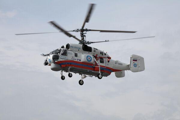 Hélicoptère anti-incendie pour gratte-ciel Ka-32A11VS - Sputnik France