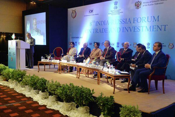 Russie-Inde: un forum d'affaires à New Delhi - Sputnik France
