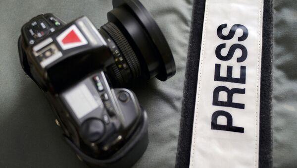 Ukraine: 83 journalistes russes interdits d'entrée (SBU) - Sputnik France