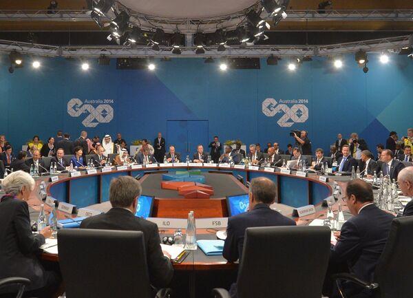 Sommet du G20:  rencontre informelle des chefs de délégation à Brisbane - Sputnik France