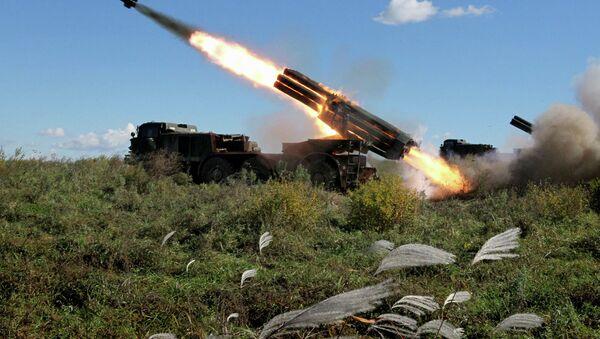 Учения артиллерийских подразделений армии в Приморском крае - Sputnik France