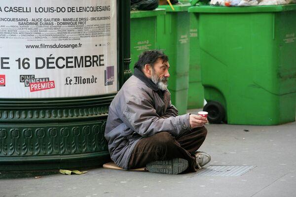 France: le nombre de SDF en hausse de 44% en 11 ans - Sputnik France