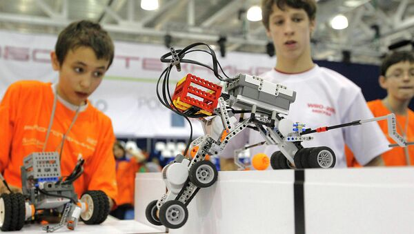Le festival de robotique - Sputnik France