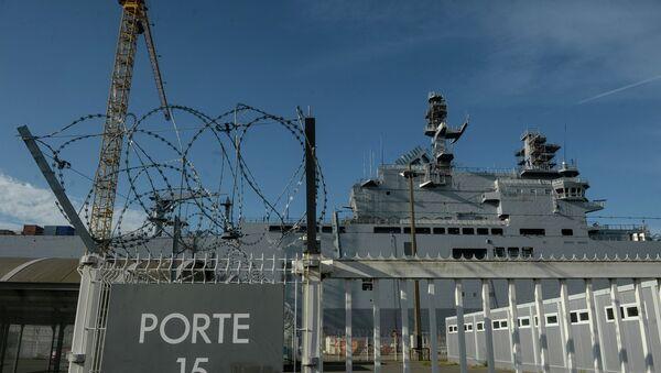 Bâtiment de guerre de type Mistral - Sputnik France