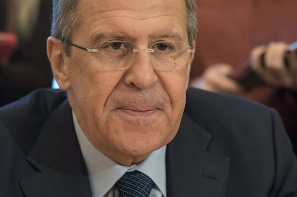 Sergueï Lavrov, ministre des Affaires étrangères de la Russie - Sputnik France