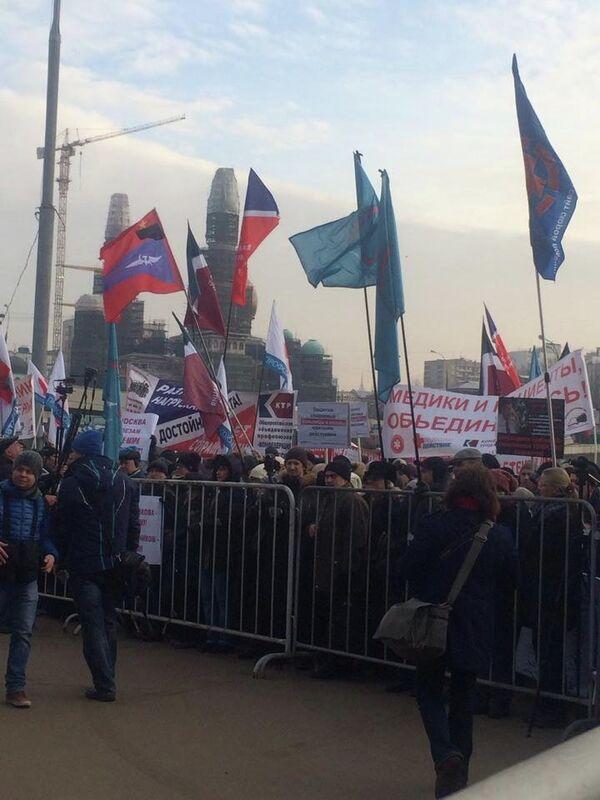 Moscou: une manifestation de près de 1.500 médecins pour protester contre les bas salaires - Sputnik France