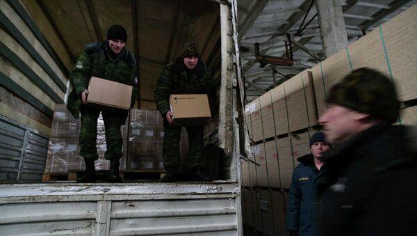Donbass: la Russie enverra un nouveau convoi humanitaire en janvier - Sputnik France