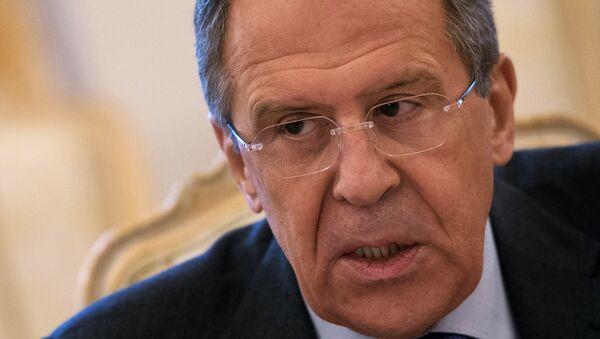 Министр иностранных дел РФ Сергей Лавров - Sputnik France