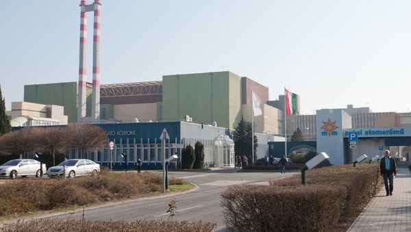 The general view of Paks Nuclear Power Plant is seen in Paks, central Hungary. - Sputnik France