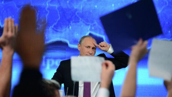 Vladimir Poutine, président de la Russie - Sputnik France