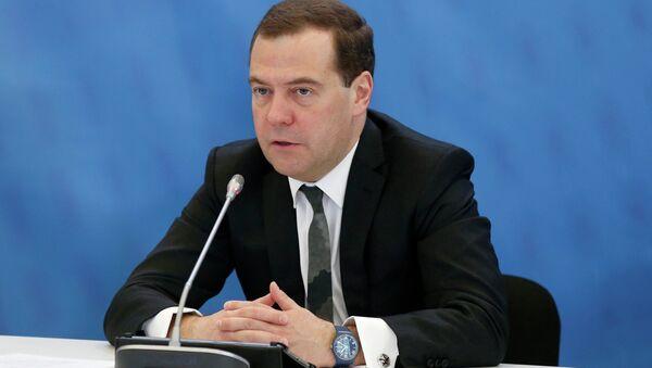 Le premier ministre russe Dmitri Medvedev - Sputnik France