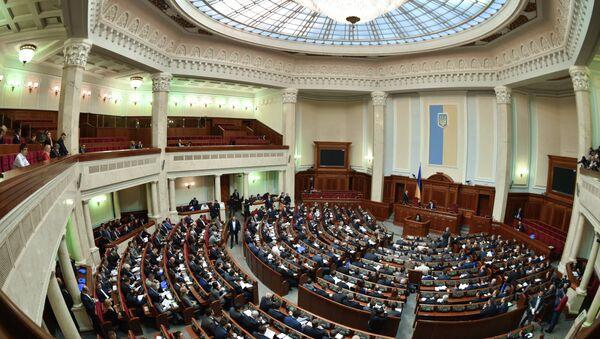 Заседание Верховной рады Украины - Sputnik France
