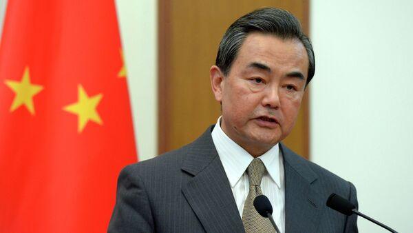 Министр иностранных дел Китайской Народной Республики Ван И - Sputnik France