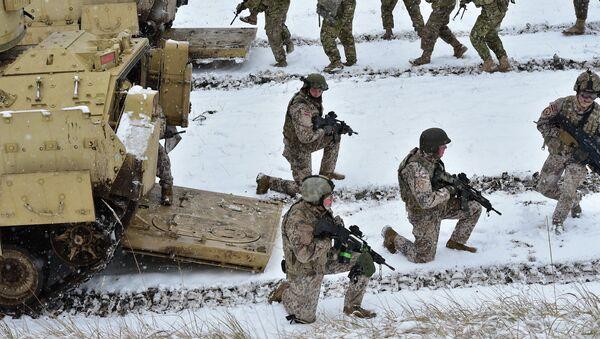 Солдаты НАТО в Латвии - Sputnik France