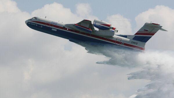 L'avion amphibie polyvalent Beriev Be-200 - Sputnik France