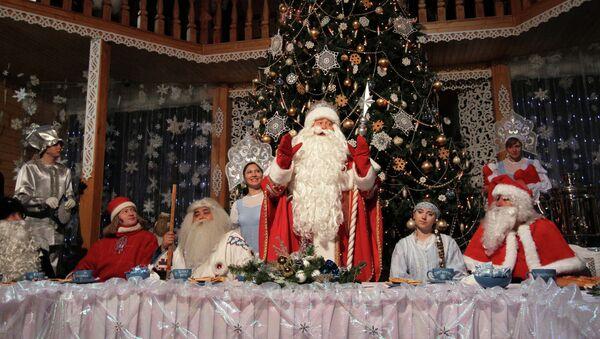 Празднование дня рождения Деда Мороза в Великом Устюге - Sputnik France