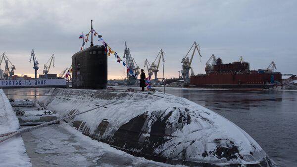 Sous-marin diesel-électrique du projet 636.6 Varchavianka Rostov-sur-le-Don - Sputnik France