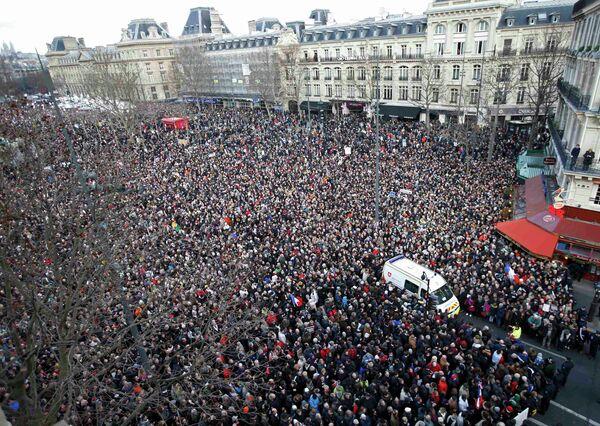 France/Marche républicaine: des centaines de milliers de manifestants à Paris - Sputnik France