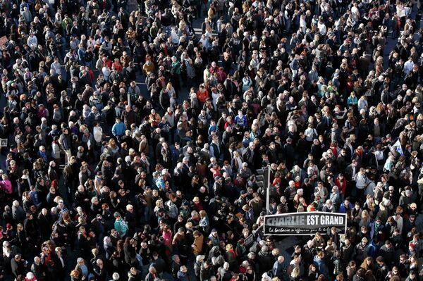 60.000 personnes ont défilé selon la préfecture à Marseille - Sputnik France