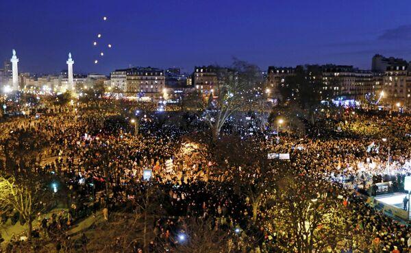 Marche républicaine: plus de 3 millions de manifestants en France (médias) - Sputnik France