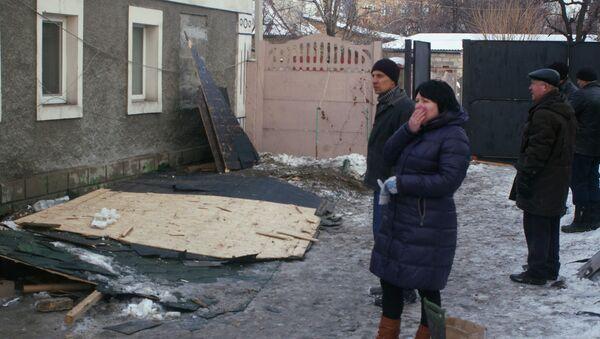 Donetsk à nouveau pilonnée - Sputnik France