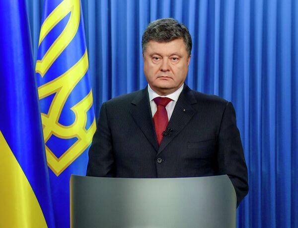 Piotr Porochenko, président de l'Ukraine - Sputnik France