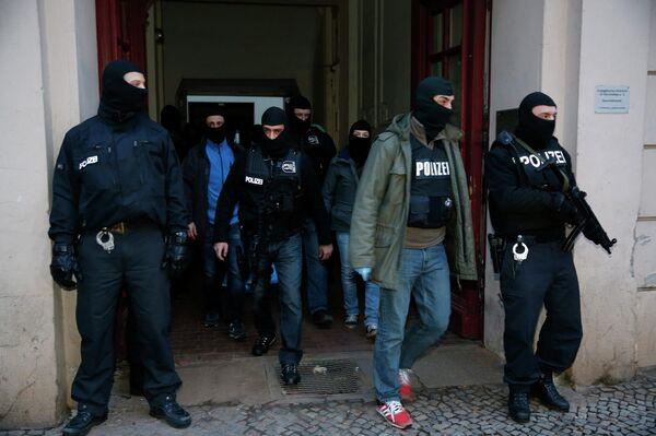 Police allemande après le raid contre un groupe islamiste - Sputnik France
